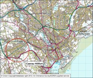 CAER_Location_Map