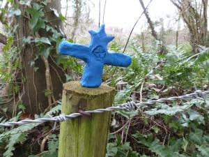 A crucifix ...