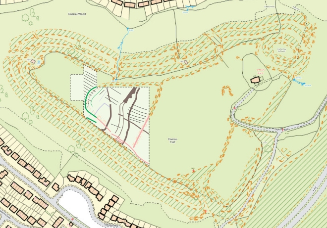 Microsoft Word - 2012-07 Caerau Geophysical Survey