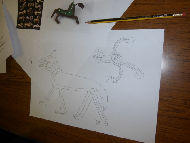 Developing Celtic designs based on animal themes ...